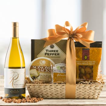 Chardonnay Gourmet Gift Basket