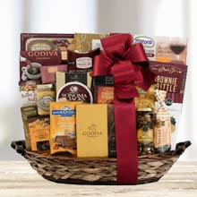 Business Christmas Gourmet Basket