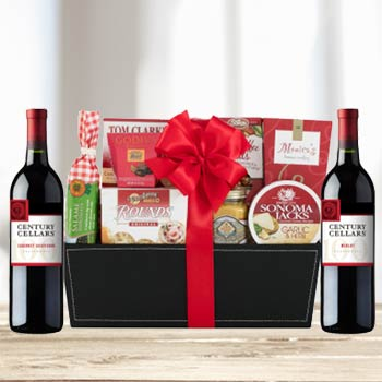Business Red Wine Gift Basket