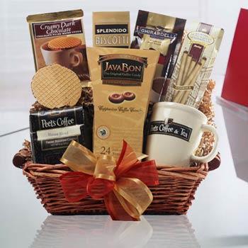 Coffee gift baskets peets coffee break gift basket peets coffee break gift basket negle Gallery