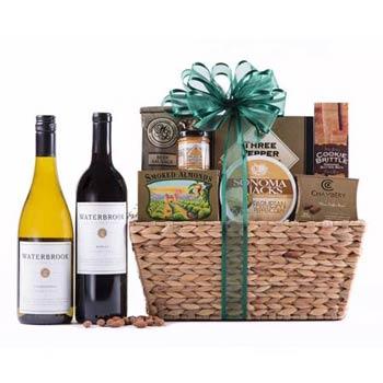 Appreciation Wine Gift Basket