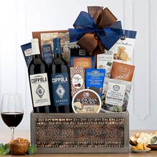 Francis Coppola Wine Basket