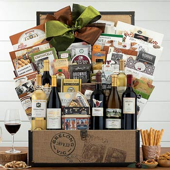 Deluxe Gourmet Gift Basket