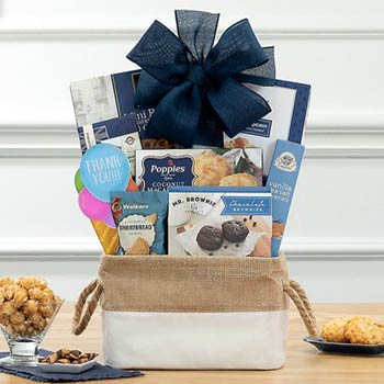 Gourmet Thank You Gift Basket