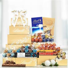 Lindt Lindor Chocolate Gift Tower