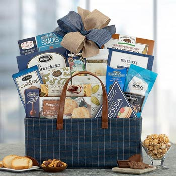Gourmet Snack Attack Gift Basket