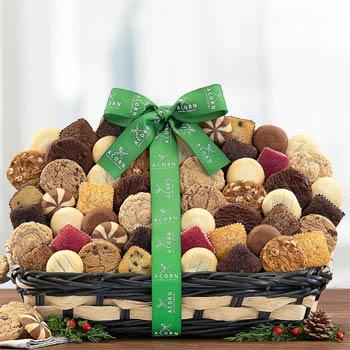 Corporate Cookies and Brownies Git Basket