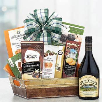 Irish Cream and Chocolates Basket