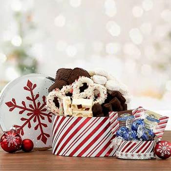 Winter Wonderland Cookie Box