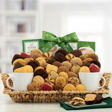 Cookies and Coffee Gift Basket
