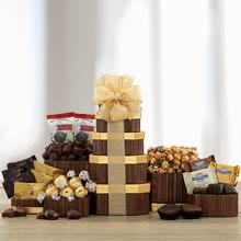 Holiday Treats Gift Tower
