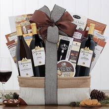 Executive Appreciation Wine Gift Basket