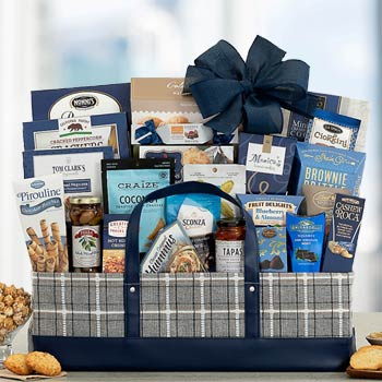 Deluxe Corporate Kosher Gift Basket