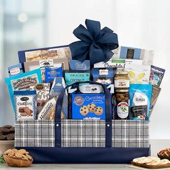Deluxe Corporate Kosher Gift Basket