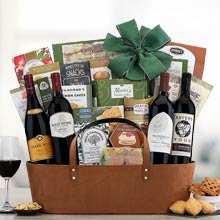 Business Gourmet Wine Basket