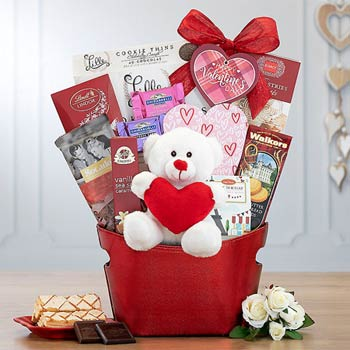 Valentines Day Gift Basket