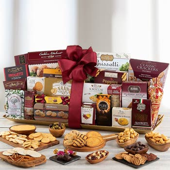 Gourmet Food Basket for Business