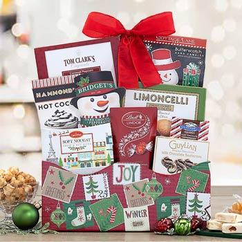 Santa's Surprise Holiday Basket