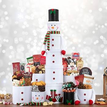 Christmas Chocolate Tower
