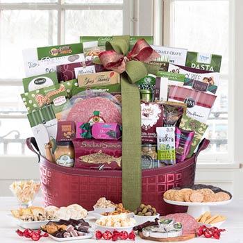 Gourmet Food Basket for Business