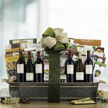 Corporate Wine Gift Basket