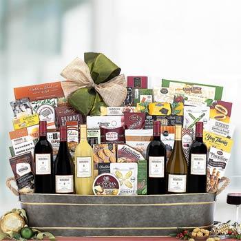 Corporate Wine Gift Basket