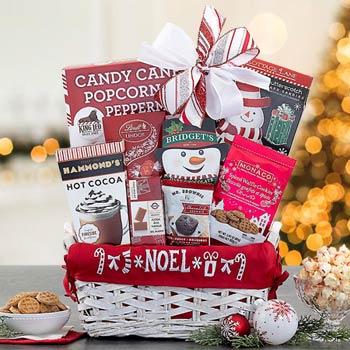 Christmas Delight Gift Basket