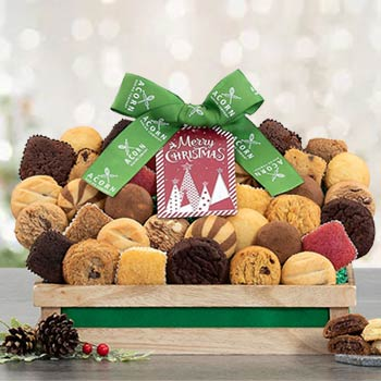 Holiday Cookie and Brownie Gift Tower