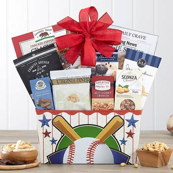 Baseball Gift Basket