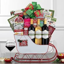 Grand Gourmet Christmas Gift Basket