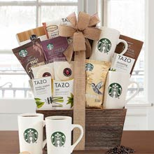 Starbucks Coffee Basket