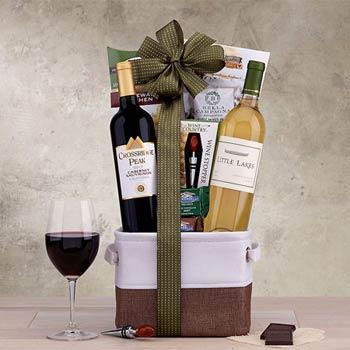 Hobson Estate Duo Wine Basket