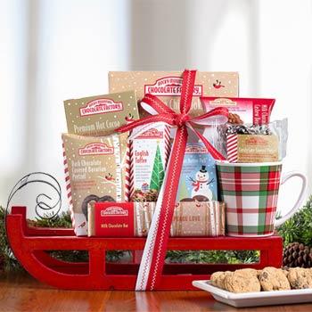 Rocky Mountain Chocolate Christmas Basket