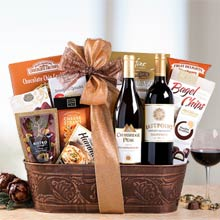 Deluxe Business Wine Basket