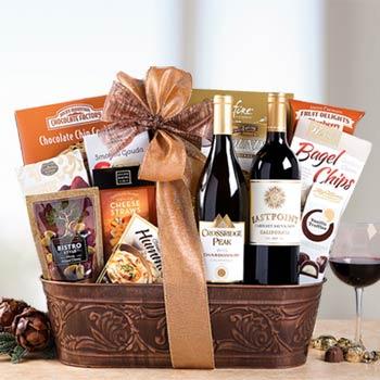 Deluxe Business Wine Basket