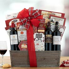 French Wine Gift Basket