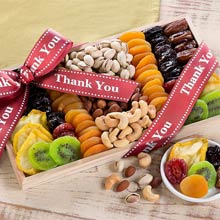 Thank You Nuts and Dried Fruit Tray
