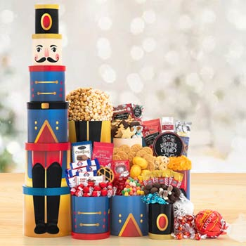 Christmas Nutcracker Tower
