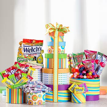 Candy Snack Tower