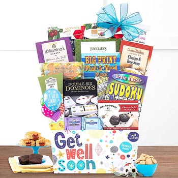 Get Well Soon Basket