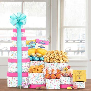 Springtime Gift Tower