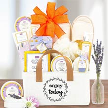 Soothing Spa Retreat Basket