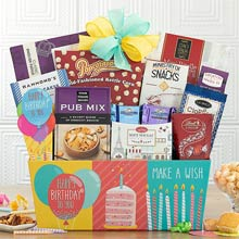 Gourmet Birthday Gift Basket