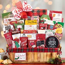 Business Christmas Gift Basket