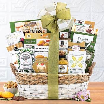 Elegant Gourmet Gift Basket