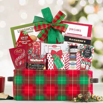 Christmas gift baskets by the gift basket pros business holiday gift basket negle Gallery