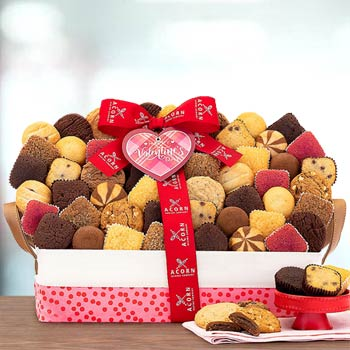 Valentines Day Cookies & Brownies Gift