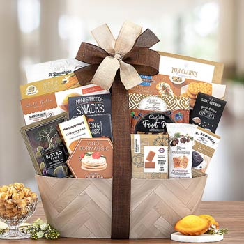 Caring Thoughts Sympathy Basket