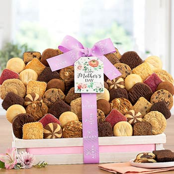 Summer Cookies and Brownies Basket