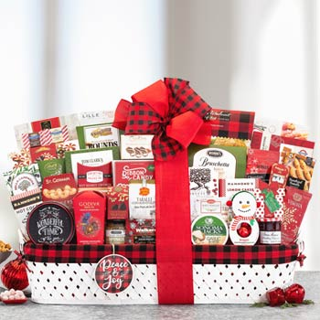 Holiday Basket for Business